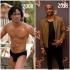 BBNaija 2019:- Omashola's 2008 Vs 2018 Photos Big Brother Naija housemate, Omashola wore only pant in his throwback picture in 2008…