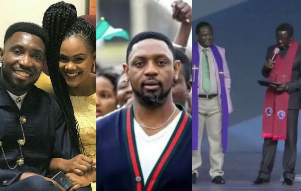 Timi Dakolo has reacted to the Christian Association of Nigeria, CAN's statement denying that it sent its officials to support Pastor Biodun Fatoyinbo of the Commonwealth of Zion Assembly (COZA) during last Sunday's church service.   Recall that the Abuja CAN Chairman, Rev. Jonah Samson and his Northcentral counterpart, Rev. Israel Akanji, were spotted in a viral video, pledging to stand by Fatoyinbo, who was accused of rape by Mrs Busola Dakolo, the wife of popular singer, Timi Dakolo, and another anonymous lady.  However CAN disowned the video clip showing its officials on a solidarity visit to the COZA Senior Pastor, saying it knew nothing about it.  Reacting to the statement by CAN, Timi Dakolo stated that the 'THE TRUTH ALWAYS WIN….' See his post below;