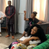 Busola Dakolo, wife of singer Timi Dakolo, is all smiles in these first photos of herself, shared two weeks after her explosive interview where she accused COZA pastor, Biodun Fatoyinbo of raping her when she was 17. There were reports that Busola had been traumatised and crying endlessly since the interview. But it seems she's doing just fine in these new photos as she hung out with her friends Waje, Bovi, Debola Williams, Latasha Ngwube today Sunday July 7th.