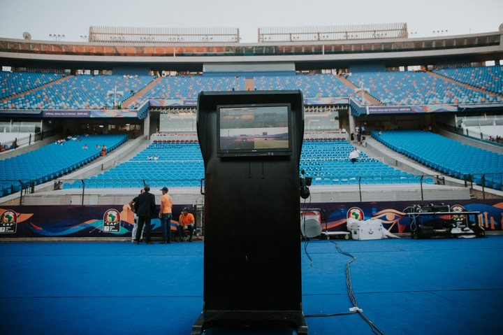 The Video Assistant Referee Machine is set to be used today in the match between Nigeria and Super Eagles at Cario Stadium. The video assistant referee (VAR) is a match official in association football who reviews decisions made by the head referee with the use of video footage and a headset for communication.