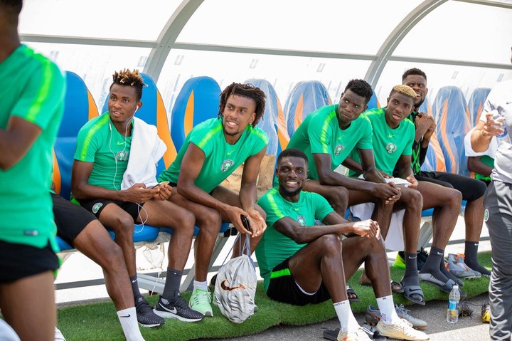 Super Eagles Resumes Training After The South Africa Defeat No Time to Check Time. The Super Eagles of Nigeria resumes training this morning after yesterdays victory over South Africa of Nigeria.