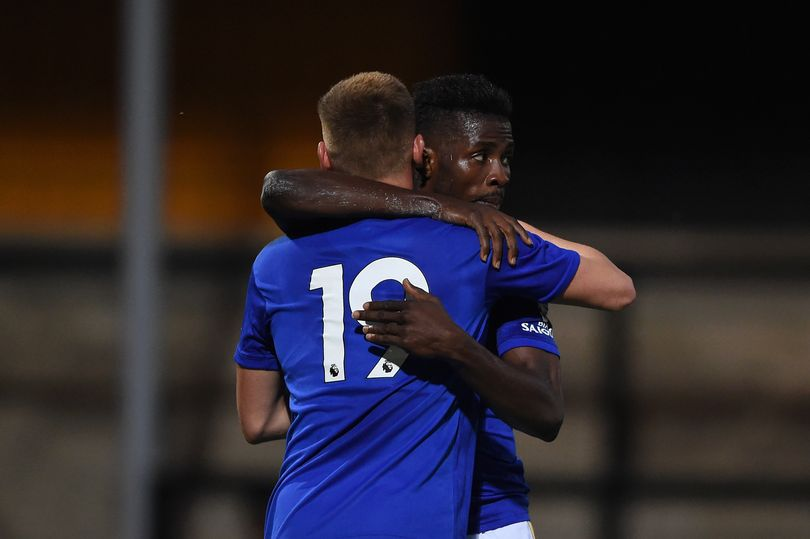 Football fans on Twitter have reacted after Super Eagles striker Kelechi Iheanacho scored his first goal for Leicester City in his 10-month drought in a 3-0 win over Cambridge United.The 23-year-old Nigeria international was dropped from the Genort Rohr's 23 man-squad from the 2019 Africa Cup of Nations that finished third for the eight-time in Egypt.Iheanacho last scored for Leicester City in September 2018 before finding back of the net after missing a sitter but former Manchester City star went on to redeem himself by scoring second for minutes later when he jumped high to connect his head with the ball that went straight into the net in the 83rd minute.  FCNaija