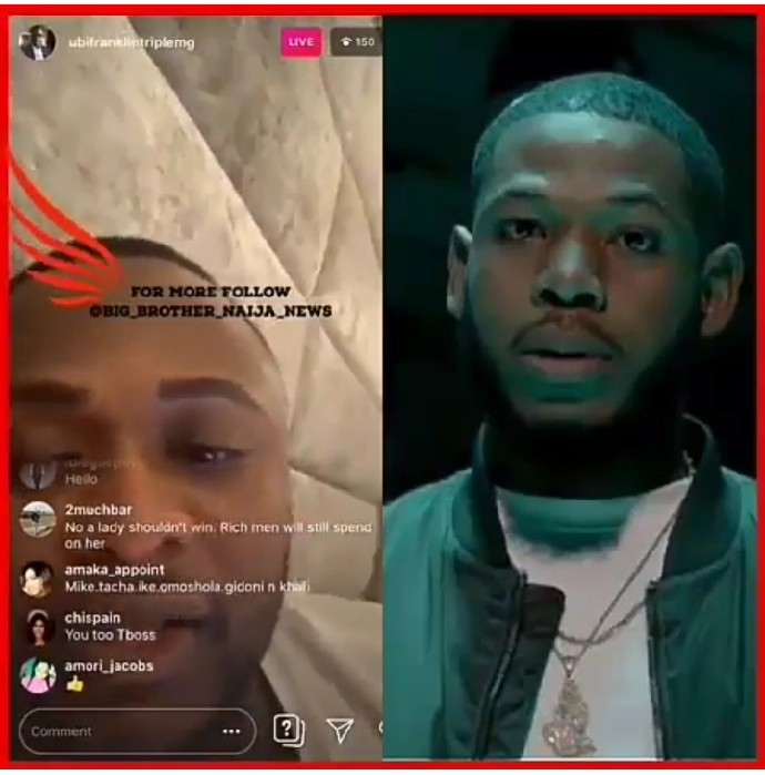 BBNaija housemate, Frodd who is a real hustler looking for his daily means has been confirmed by Triple MG executive, Ubi Franklin that he knows Frodd even before he went for BBNaija.
