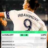 Zlatan Ibrahimovic scored his 2nd hat trick in the Major League Soccer as the LA Galaxy beat rival Los Angeles FC 3-2 thanks his stunning goals, MySportDab reports. After LA took the lead early on, Ibrahimovic equalised four minutes later when h split defenders Walker Zimmerman and Eddie Segura and fired a shot from the top of the box that beat Tyler Miller. Ibrahimovic gave the Galaxy the lead 11 minutes into the second half when he went over Jordan Harvey and headed it into the net. He completed the hat trick 14 minutes later with a blast from 21 yards out.