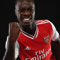 Premier League club, Arsenal has announced the record signing Nicolas Pepe from Lille for £72million on a five-year contract. According to an agreement signed between both clubs, Arsenal will pay an initial £20m with the remaining £52m spread over the next five years due to their transfer restriction. After completing his move, the 24-year-old Ivorian forward, who will wear the No 19 shirt, said: 'Being here is very emotional because it has not been easy for me. I have come a long way and struggled a lot and so signing for this great club is a big reward. It was important to make the right decision and I am convinced that Arsenal is the right choice.' Arsenal boss Unai Emery added: 'Nicolas is a highly-rated and talented winger who was wanted by many of the top teams in Europe. 'Signing a top-class winger has been one of our key objectives in this transfer window and I'm delighted he's joining. He will add pace, power and creativity, with the aim of bringing more goals to our team.' The big-money move for Pepe places him above Pierre-Emerick Aubameyang, who arrived from Borussia Dortmund for £56m in January 2018. Last season, Pepe scored 23 goals in 41 games for the Ligue 1 side.