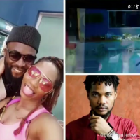 "In a twist, Biggie has introduced four new housemates which includes, Venita, Enkay, Elozonam and finally Joe. Khafi who was super excited to meet the new housemate rushed to the door only to discover that it was her ex. She popped the question, ""What are you doing here"" while he gave a resounding reply, ""I'm here for you"""