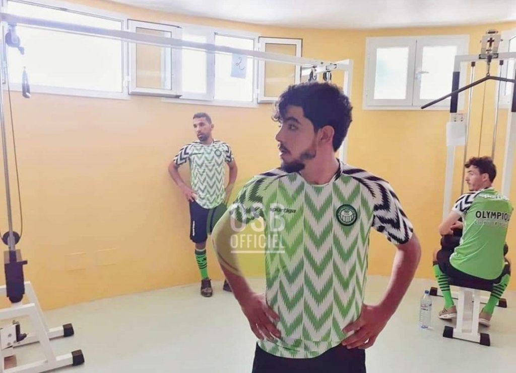 Tunisian club L'Étoile Olympique de Sidi Bouzid (EO Sidi Bouzid) have unveiled Super Eagles lookalike jersey ahead of the new season.  The Ligue two side have dumped their traditional green stripes for the Nigeria jersey which received international attention when it was unveiled last year before the 2018 FIFA World Cup in Russia.  The Super Eagles jersey is a mix of green, white and black colours which was designed by Nike and there were queues at several stores around London the day it was introduced into the market.L'Étoile Olympique de Sidi Bouzid was founded in 1959, in the City of Sidi Bouzid as the club is currently campaigning in the Tunisian Ligue 2 (Group B).