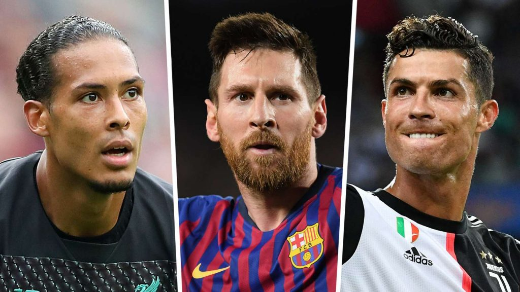 Ten players have been put forward for the prestigious prize, which is now in its fourth year Lionel Messi, Cristiano Ronaldo and Virgil van Dijk are among the 10 players nominated for FIFA's The Best Men's Player award.