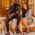 """Tania Omotayo has shared a rare photo of her and her husband. In the photo, Tania can be seen staring at the camera while husband Olasumbo, the co-owner of Buzzbar, looked in a different direction. """"Mr & Mrs S,"""" Tania captioned the photo."""