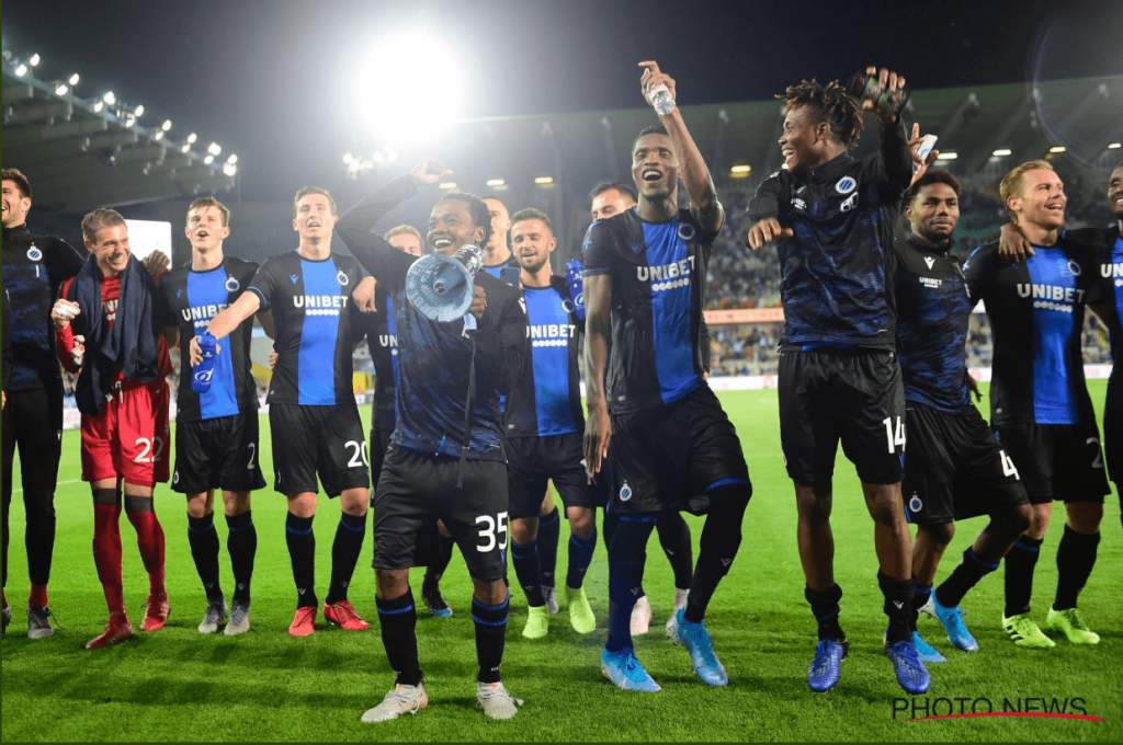 Nigerians U23 stars of David Okereke and Emmanuel Dennis on target in Club Brugge 6-0 Sint-Truiden in a Belgian League clash at the Jan Breydel Stadium.  Okereke opened scoring for Brugge in the16th minute of the encounter and doubled his side's lead four minutes later.