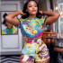 """More importantly the weekend offers with it so much vibes, positive vibes, and Cynthia Nwadiora popularly known as 'Cee-C' is having a feel of mild meditation of her own. The former Big Brother Naija (BBNaija) housemate is thus appreciating the goodness of life's bounties, and equally enjoying the moment in a vintage colour-blend jumpsuit while looking all fabulous! She quite noted: """"I welcome miracles, blessings and positive transformations that lift my mind and to great heights.. Outfit: @blaq___diamond"""""""