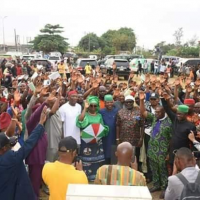 "Close to N1 billion naria is deducted from the monthly allocation accruable to Imo State to repay 26 billion naria bail out funds given to the Okorocha administration by the Federal Government. This was revealed by Imo State Governor, Emeka Ihedioha in his speech to celebrate his 100 days in office in Owerri, Friday. "" It is worthy of note that with our wage bill at an average of N2.5b per month, almost N1 billion monthly pension bill and in an atmosphere of very low IGR, leaves little for development. ""This is compounded by the almost N1b statutory deduction on our FAAC, majorly for the repayment of the N26.8b bail out funds, given to the last administration"" the Governor said. He explained his administration's success in various sectors such as education, health, power supply, youth empowerment, agriculture, sports and provision of affordable housing soon He said within 100 days in office, the State Internal Generated Revenue, IGR, increased from all time low of about 300m in July to 600m in August which made the State qualify for performance based grants of the World Bank and other multinational development institutions. According to him, workers salary has been restored to 100 percent, backlog of local Government workers paid. He added that all unjustly suspended Directors, have been reinstated and his administraion has reversed some underserved promotions and sponsored officers to capacity building programmes. Ihedioha said 14 critical raids are undergoing reconstruction while 70 Rural Roads network with a cumulative distance of 381 kilometers across 27 LGAs are under the Rural Access and Mobility projects, RAMP."