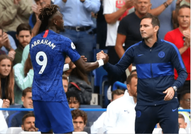 Chelsea coach Frank Lampard revealed why he wantsTammy Abraham to play for England instead of Super Eagles of Nigeria. The 21-year-old Camberwell-born score two goals in two consecutive Premier League games since current Blues boss Lampard managed the feat in 2010 but the Nigerian descent was not called up by Gareth Southgate for the Three Lions' upcoming Euro 2020 qu