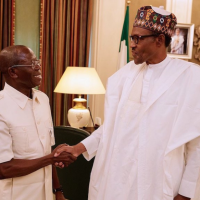 "Adams Oshiomole, the National Chairman of the All Progressives Congress (APC), says without an iota of doubt, President Buhari has done immensely well in his 100 days into his second term as President. Speaking at an APC meeting in Abuja yesterday, Oshiomole said President Buhari can beat his chest to say he has started off very well and fast. ""President Buhari can beat his chest to say I have started well; I have started fast. You cannot call him Baba Go Slow now. This time, he is Baba Fast. Everything is about comparison. In 2015, after 100 days, we did not have a federal cabinet. The President had not appointed ministers. From my interaction with a number of ministers, the budget for 2020 is already being prepared. Ministers have been assigned to their various ministries. They have already started the process of taking over and trying to understand the challenges. ""Government is already effectively on ground. That alone shows a remarkable departure, if you compare what the President has done in 2019 to what he did in 2015. The President has been engaging various groups. Recently, he talked to the Nigeria Society of Engineers and other professional groups, reminding all of us that we have our roles to play in the Nigeria project. ""As a party, we have access to the President. We see him any time we want to see him and share with him whatever we want to do. You notice that this time, the President organized a retreat for ministers immediately they were appointed. That retreat was not about entertainment; it was to discuss about Nigeria and the administration's policy choices. ""Now, the government challenge is: where do we cut costs, so that we can find resources we need to sustain investment in infrastructure?"""