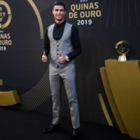 """Juventus forward Cristiano Ronaldo has set another record after winning the Portuguese player of the year award for the 10th time. The 34-year-old five-time Ballon d'Or winner beating Atletico Madrid new signing Joao Felix, Manchester City star Bernardo Silva, Wolves midfielder Ruben Neves and Sporting Lisbon playmaker Bruno Fernandes.According to Daily Mail claims that the glamorous awards evening took place at the Carlos Lopes Pavilion in Lisbon where he was crown Portugal best players of the year and he has now won the award in every year bar twice since 2007, with Barcelona Real Madrid legend Luis Figo second in the all-time list with six wins.The only seasons he did not collect the accolade were when Simao won it in 2010, and in 2014 when Pepe was crowned the victor.Former Manchester United winger said """"This world is so fast, with the social media, the press, it's been wild,'.""""It's been an extremely complicated year on a personal level. Don't let anyone pull you down.""""I can't help but mention that Sporting deserves a little prize. Next time.' Ronaldo, having missed on UEFA's Player of the Year award at the expense Virgil van Dijk and he will battle his rival, Lionel Messi and Liverpool defender for the FIFA Men's award with the winner will be announced on September 23 at a ceremony in Milan. The full list of the Award Winners Male Player of the Year: Cristiano Ronaldo (Juventus) Female Player of the Year: Jessica Silva (Levante / Lyon) Male Football Coach of the Year: Bruno Lage (Benfica) Female Coach of the Year: Miguel Santos (Braga) Men's Team of the Year: Benfica Women's Team of the Year: Benfica"""