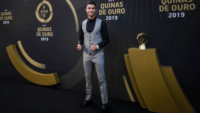 "Juventus forward Cristiano Ronaldo has set another record after winning the Portuguese player of the year award for the 10th time.  The 34-year-old five-time Ballon d'Or winner beating Atletico Madrid new signing Joao Felix, Manchester City star Bernardo Silva, Wolves midfielder Ruben Neves and Sporting Lisbon playmaker Bruno Fernandes.According to Daily Mail claims that the glamorous awards evening took place at the Carlos Lopes Pavilion in Lisbon where he was crown Portugal best players of the year and he has now won the award in every year bar twice since 2007, with Barcelona Real Madrid legend Luis Figo second in the all-time list with six wins.The only seasons he did not collect the accolade were when Simao won it in 2010, and in 2014 when Pepe was crowned the victor.Former Manchester United winger said ""This world is so fast, with the social media, the press, it's been wild,'.""It's been an extremely complicated year on a personal level. Don't let anyone pull you down.""I can't help but mention that Sporting deserves a little prize. Next time.'  Ronaldo, having missed on UEFA's Player of the Year award at the expense Virgil van Dijk and he will battle his rival, Lionel Messi and Liverpool defender for the FIFA Men's award with the winner will be announced on September 23 at a ceremony in Milan.    The full list of the Award Winners  Male Player of the Year: Cristiano Ronaldo (Juventus)  Female Player of the Year: Jessica Silva (Levante / Lyon)  Male Football Coach of the Year: Bruno Lage (Benfica)  Female Coach of the Year: Miguel Santos (Braga)    Men's Team of the Year: Benfica  Women's Team of the Year: Benfica"