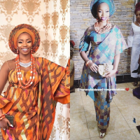 Meet the latest wife in town, Bambam. BBNaija lovers, Teddy-A and Bambam's traditional introduction and engagement ceremony are currently on Ogun state. See the outfits wore by the wife.