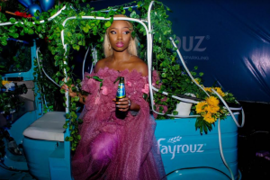 """Well, when Fayrouz and Delphino Entertainment tagged the last Delphino Picnic in Abuja """"nature meets natural"""", they expected a lot of different looks but it was a breath of fresh air to see former BBNaija housemate, BamBam bring the theme to life, literally."""