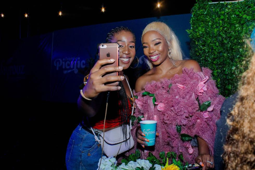 "Well, when Fayrouz and Delphino Entertainment tagged the last Delphino Picnic in Abuja ""nature meets natural"", they expected a lot of different looks but it was a breath of fresh air to see former BBNaija housemate, BamBam bring the theme to life, literally."