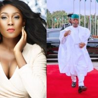 """Jenifa's Diary star, Lota Chukwu turned on her savage side as she reacted to Vice President Yemi Osinbajo's 'agbada swag' to the Independence day celebration. Reacting to a photo of the Vice President shared by an All Progressives Congress political analyst @DOlusegun with the caption """"VP out here pressing necks"""", Lota Chukwu asked Yemi Osinbajo and other political elites to press infrastructure, police brutality, harassment, security, the economy and other issues affecting the country with same energy because we didn't vote in Ebuka."""