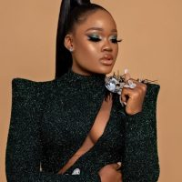 BBNaija star, Cynthia Nwadiora popularly known as Cee-C dazzles in new beautiful photo as she goes braless in the suit top thereby baring her cleavage, all looking so alluring.