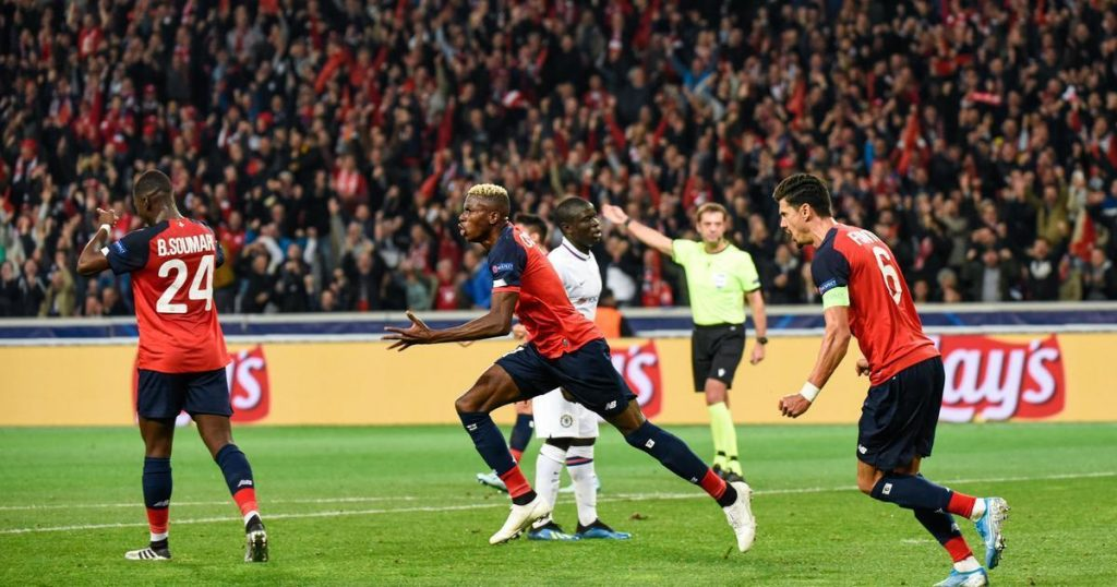 """Chelsea manager Frank Lampard revealed why Super Eagles striker Victor Osimhen caused Chelsea problem during 2-1 win over Lille in Tuesday's Champions League clash at the Stade Pierre-Mauroy.  The 20-year-old Nigeria international scored a fantastic goal against Premier League giants in the 33rd minutes after Tammy Abraham had given the visitors the lead 22nd into the encounter before Brazilian midfielder Willian scored the winner for the Blues in the 78th minute to give the Stamford Bridge landlords the win. However, Osimhen had done enough to earn Lampard's admiration was quoted after the game: """"Osimhen was very impressive, it was a very difficult match for our defenders. He is fast and strong. I wish him a great career,""""  """"I know where he (Osimhen) comes from, I know his story he made a big game and managed to ask us a lot of problems in defense. He will make a big career,""""""""He was hugely impressive. Tonight was going to be a tough match for our defenders. His performance individually was really good."""" The win in France has given Chelsea their first three points in the group while Lille remains pointless after suffering an earlier defeat at Ajax on matchday 1."""