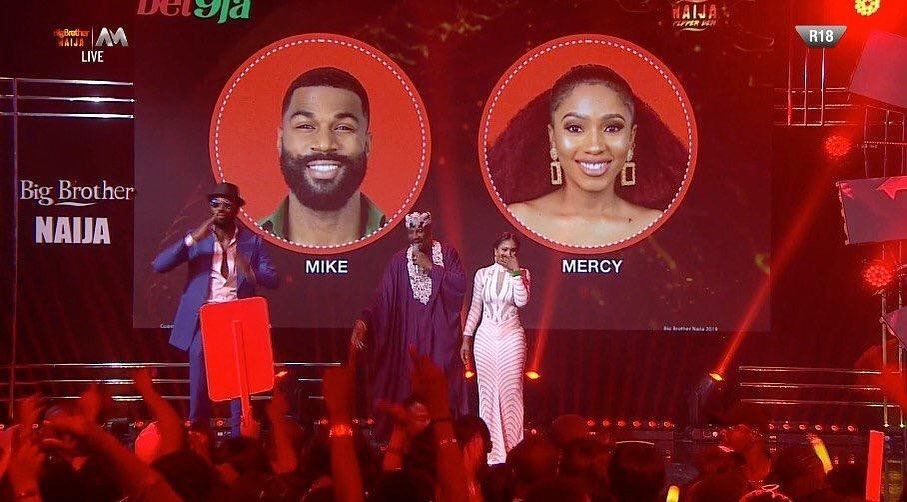 Well not sure how long this new version of Tacha is going to last but at the moment she seems to be all the right things at the right time, as she sets her feud aside and congratulates eventual winner Mercy on this year's BBNaija show for her historic feat as first woman to win on the platform.  But with her latest congratulatory message, for now it is safe to say Tacha has moved on, for now.  Congratulations LAMBORGHINI MERCY HISTORY HAS BEEN MADE FIRST FEMALE Big BROTHER NAIJA WINNER. @official_mercyeke I am sincerely happy for you ❤️ Congratulations to the cruise Master Mikey @aireyys for emerging 1st runner up. Never an easy feat. Best and prosperous wishes.
