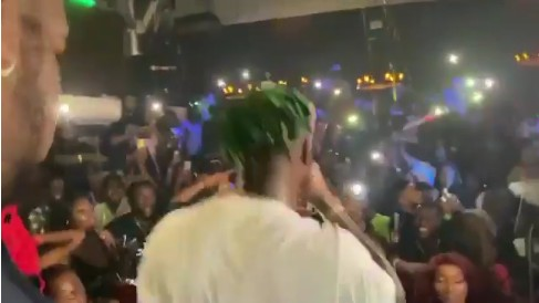 Zlatan Ibile is in America for a tour and the guy killed the show. See how people were singing along to the self acclaimed Zanku Master…