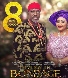 Veteran Nollywood actress, Ndidi Obi popularly known as 'Nneka The Pretty Serpent' because of her epic role in a movie with same time title. Ndidi Obi has resurfaced in the new Nollywood movie, 'Living In Bondage: Breaking Free' a movie directed by Ramsey Noah.