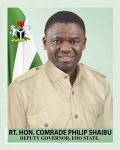 Deputy Governor of Edo State, Hon Philip Shuaibu, has denied allegations by National Chairman of the All Progressives Congress, Comrade Adams Oshiomhole, that he (Shuaibu) was responsible for Saturday's attack on the convoy of Governor Godwin Obaseki and the Oba of Lagos, Oba Rilwan Akiolu at Oshiomhole's residence.