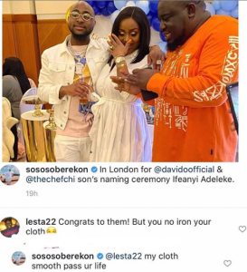 """""""My Cloth Is Smoother Than Your Life"""" – Soso Soberekon Claps Back At A Troll"""
