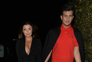 Nobody likes a night out on the town more than Abigail Clarke, this mature brunette took her boyfriend clubbing and paparazzi were quick to follow them.
