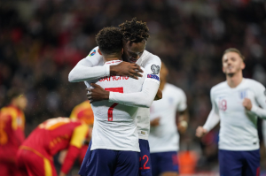 Nigerian descentTammy Abraham has reacted after scoring his first goal in England7-0 bashingMontenegro in the Euro 2020 qualifiers at Wembley Stadium on Thursday night.  The 22-year-old Chelsea striker came off the bench to