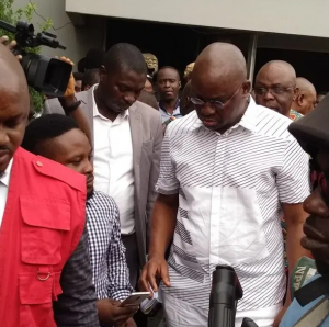 Trial on the alleged N6.9 billion fraud against former Ekiti State Governor, Ayodele Fayose at the Federal High Court, Lagos, was on Thursday, November 28th stalled following absence of the trial judge, Justice Chukwujekwu Aneke.