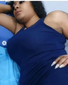 Nollywood actress Angela Okorie discharge from hospital, shares new photos of bruises she substained Quilox club in Lagos. The single mother clears the air she wasn't drunk when she had the bruises at the club.