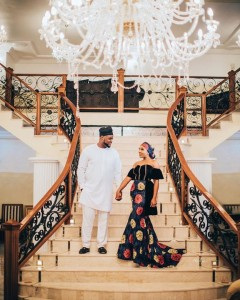 The chairman of HKN record label and Elder brother to superstar Davido, Adewale Adeleke on Wednesday released photos from his pre-wedding photo session.