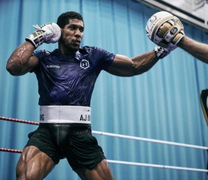 Anthony Joshua Trains Hard, Shows Off Amazing Physique Ahead Of Andy Ruiz Rematch Anthony Joshua trains hard, shows off impressive physique ahead Of Andy Ruiz rematch.