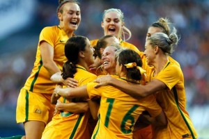 Australia's professional women soccer players will be given the same base pay as men in a one-year extension to a collective bargaining agreement. Players in Australia's W-League will have their annual minimum remuneration hiked 33 percent to A$16,344 ($11,400), with their base h