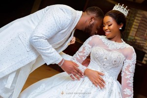 Ex BBNaija Housemate, Bambam, has announced that she is pregnant and expecting a baby with her husband, Teddy-A.  Sharing some photos that reveal her baby bump, Bambam wrote: