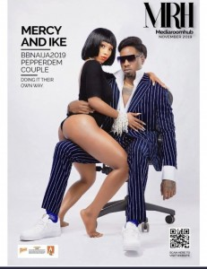 Big Brother Naija's Mercy and Ike are on the cover of the media room hub magazine's latest issue. The snapshots were extremely fabulous and glamorous as the couple are looking to take their relationship more seriously and unto the next level. Mercy has been on tours and party appearances since coming out of the big brother naija house, but not much as been heard from her American boyfriend, IKE, who is not on parity with her as far as popularity goes.