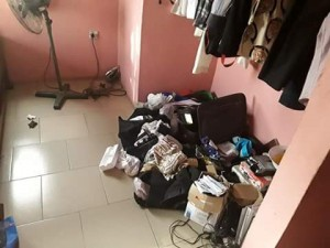 Nigerian man shares bitter experience after his home and office were robbed on the same day.  A Nigerian businessman, Kenechi Anene is counting his loses after suspected robbers invaded his home and office same day and stole all valuables.
