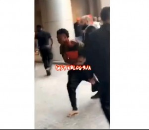 The moment Davido's victim was rushed to the hospital while covered in blood.  He and his management pleaded not to press charges so Davido won't go to jail