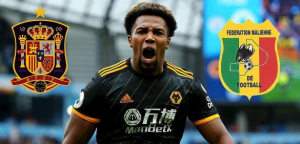 Dilemma for Wolves winger asSpain and Mali called upAdama Traore for the upcoming international football for both nations. The 23-year-old forward was born in L'Hospitalet de Llobregat, Barcelonabut