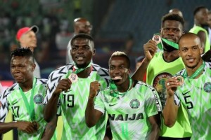 The upward movement was as a result of their 2-1 win over Benin Republic and 4-2 win over Lesotho in the Africa Cup of Nations qualifying matches. Nigeria's Super Eagles have moved up by four spots in the November ranking to place 31st on the ranking table.