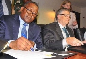 """Governors Bala Mohammed (Bauchi) Babangana Zulum (Borno), Babajide Sanwo-Olu (Lagos) and Muhammad Inuwa Yahaya (Gombe) and President of Dangote Foundation, Alhaji Aliko Dangote, Monday left Nigeria for Seattle in the United States (U.S.A).  They will hold a roundtable discussion with the Bill and Melinda Gates Foundation on healthcare interventions in Nigeria.  A statement by Governor Mohammed's Senior Special Assistant (SSA) on Media, Muktar Gidado, said his participation at the end of the year discussion in Seattle would strengthen Bauchi State's primary health care delivery.  The statement reads: """"The provision of an effective health care service delivery is one of the important basic social services required by the administration of Governor Bala Mohammed to ensure meaningful and even development in the state.  """"Consequently, therefore, the 2019 end of the year discussion in Seattle, U.S.A, is aimed at strengthening the Bauchi State primary health care delivery.  """"Similarly, as part of his administration's strategy in building synergy and partnership, Governor Mohammed considers leadership, dependable management of resources and good governance as a formula for achieving success."""""""