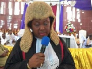 A group of women had come visiting. The women, most of them, Choristers came from the Cathedral Of The Transfiguration Of The Lord, (CATOL), Anglican Communion, Owerri. They came to rejoice with one of their own, Hon. Justice Chioma Nwosu-Iheme, PhD, who had just come back from the Lion's den. In her words she came out from the land of the dead.