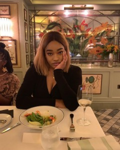 Jay-Jay Okocha's Beautiful Daughter And Her Boyfriend Loved Up In London (Photos)   Austin JJ Okocha's Daughter, Daniella is deeply in love, she cant stop posting photos of her pretty cute boyfriend on her page.  I bet you might not even kn
