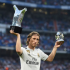 Real Madrid midfielder Luka Modric has beaten Lionel Messi and Cristiano Ronaldo to another award, the Croatian ace will be awarded the 2019 Golden Foot award in a ceremony in Monaco on Tuesday. The award is in its 17th year and the award is given out the best performing player over the age of 29.This year Golden Foot award presenters are Jose Altafini, Paulo Roberto Falcao, as well as Carolina Morace while Patrick Vieira will hand the Real Madrid midfielder the accolade.The likes of Edinson Cavani, Iker Casillas, Gianluigi Buffon, Samuel Eto'o, Andres Iniesta, Didier Drogba, Zlatan Ibrahimovic, Ryan Giggs, Francesco Totti and Ronaldinho have all won the award in the past.