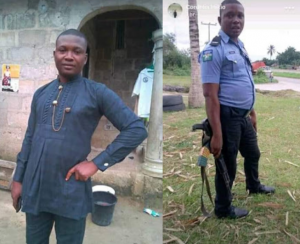 A Nigerian police officer was killed in an accident just few weeks to his wedding.     According to a friend, Nwachukwu Nnenna, the deceased was set to wed on December 15th, 2019.