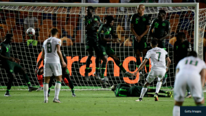 The Manchester City winger recalled his match-winning strike that sent his country to the final of the continental showpiece in July Algeria captain Riyad Mahrez revealed how Henry Onyekuru's position triggered him to change his target that resulted in the winning goal in their 2-1 win over Nigeria.